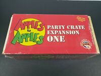 Boardgame Apples to Apples: Party Crate one 1 Expansion Box 500 cards NEW SEALED
