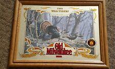 """Old Milwaukee Beer Mirror Wild Turkey #6 21"""" x 16"""""""