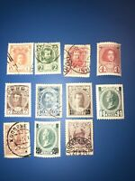 Stamps 11 Pcs IMPERIAL RUSSIA YR 1913,ROMANOV'S FAMILY,mixed-new/used