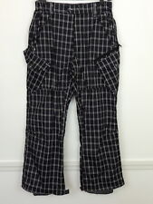 Free World Techinal Outerwear Mens S Pants Ski Snowboard Plaid Freeworld