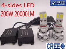 200W 20000LM CREE LED Headlight Kit Light Bulb H4 H11 9005 Replace Halogen Xenon
