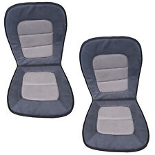 2PC Uiniversal Gray Ultra Suede Car/Truck seat cushions