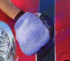 Hand Cover Wash Washing Mitt Waxing Polish Cleaning Mit Dusting Fiber Glove HD