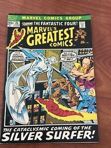 Marvel's Greatest Comics #35 Reprints Fantastic Four 48 Marvel Comics FN 1972