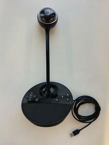 Logitech BCC950 Full-HD Conference Webcam - Schwarz, gebraucht. #01