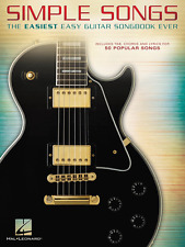 """SIMPLE SONGS """"THE EASIEST EASY GUITAR SONGBOOK EVER"""" MUSIC BOOK NEW ON SALE TAB!"""