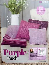 CUSHIONS & BLANKET THROW ~ Knitting Pattern ~ NEW