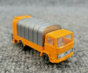 VINTAGE WIKING MERCEDES GARBAGE REFUGE TRUCK 1/87 SCALE PLASTIC MADE IN GERMANY