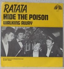 "RATATA Hide the poison RARE 7"" 1980 pop HOLLAND Jan Rot"
