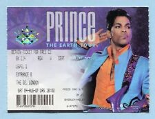 2007 Prince concert ticket stub The O2 Arena London UK  England Earth Tour