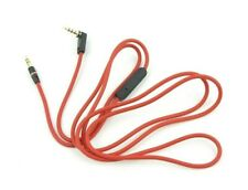 3.5mm Replacement Audio Cable L Cord For Beats by Dr Dre Headphones Aux and Mic