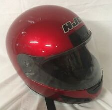 HJC Motorcycle Helmet Full Face Ruby Red CL12 Vented 10-2000