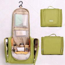 Kulturtasche Reise Kulturbeutel zum Aufhängen Kosmetiktasche Waschtasche Grün