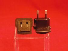 110V-220V Usa to Euro Travel Adapter Power Socket Plug Converter Lot of 2