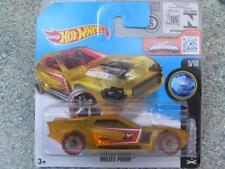Hot Wheels 2016 # 015/250 Bullet Anti Trasparente Giallo X-Racers Custodia A