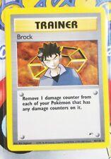 Pokemon Cards - Brock #98/132 [GYM HEROES] [NM+]