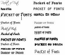 4500 Schriften Sammlung Professional Pack. TTF, OTF, True Type