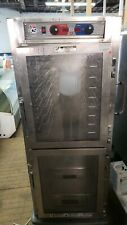 Metro C599-Sdc-U Full Size Holding/Proofing Cabinet Clear Dutch Doors 120V #1949