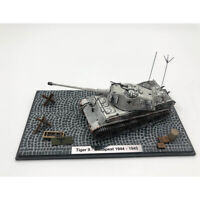 1/72 Tiger Ⅱ Budapest 1944-1945 SD.KFZ182 Tank Model Die Cast Gift Hot Blooded