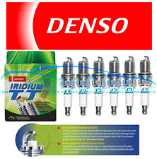 6 DENSO IRIDIUM TT SPARK PLUGS FOR LEXUS IS250 IS350 GS350 GS450h V6 NEW OEM JDM