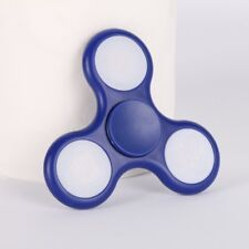 Purple Hand Spinner with Colored LED