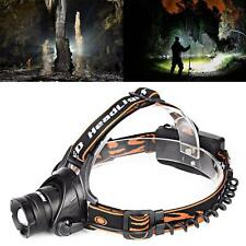 Adjustable 2800 Lumens CREE XM-L T6 LED Rechargeable Head Torch Headlamp Lamp MT