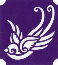 GT832 Body Art Temporary Glitter Tatttoo Stencil  Bird