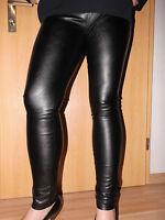 Leder Leggings Vero Moda Gr.40/42 M weiches Lederimitat.