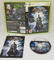 Xbox 360 Batman Arkham Asylum  Video Game VGC FAST FREE POSTAGE