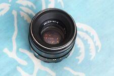 Helios-44-2 58мм f/2 lens for M42 Zenit Pentax Practica *