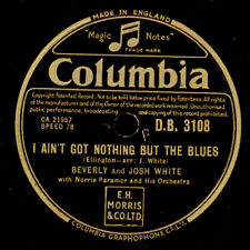 Beverly & Josh White I AIN 'T GOT Nothing But the Blues/The Butterfly chanson x2392