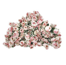 84 Long Stem Rose Buds Wedding Silk Dew Flowers Plant Decor Wedding NEW CWMV