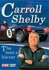 THE CARROLL SHELBY STORY - The Man & His Car - Ford Cobra, Chrysler - NEW DVD