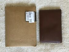 Bellroy Travel Wallet RFID Passport Holder Pen BROWN RRP £95