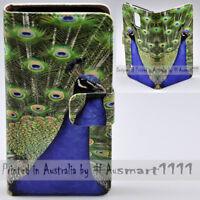 For Google Pixel Series Mobile Phone - Peacock Bird Print Flip Case Phone Cover