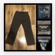 ROHAN : Mens (Barricade) Dry Requisite Waterproof Trousers : 32S Good Condition
