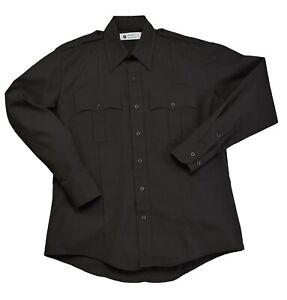 Liberty Uniform Men's Long Sleeve Police / Guard Shirt   Stain Repellent