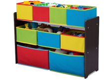 Delta Children Deluxe Multi Bin Toy Organizer with Storage Bins playroom chest