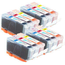 12 C/M/Y Ink Cartridges for Canon Pixma iP3600 MP540 MP620 MP980 MX870
