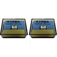 Pair (2x) KYOWA Replacement Stylus/Styli for Stanton 500/505 free 1st class DEL