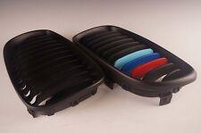 Front Grille Matte Black & ///M Color For BMW 1 Series E81 E82 E87 E88 128i 135i