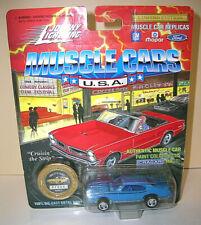 "Johnny Lightning ""MUSCLE CARS"" 1969 Pontiac GTO Judge - 1:64 - Opening Hood"