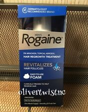 ROGAINE MENS FOAM 5% MINOXIDIL 1 Month Supply 2.11 oz Can in Box FEBRUARY 2021