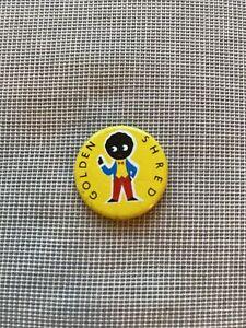 Vintage Small Golden Shred Badge
