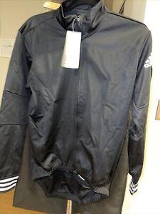 ADIDAS Adistar Over Long Sleeve Cycling Jersey/Jacket CW7727 Black $225 Retail