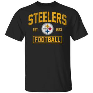 Vintage Pittsburgh Steelers Football Men's Tee Shirt Short Sleeve