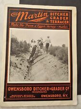***VINTAGE OWENSBORO DITCHER & GRADER CO. ADVERTISING CATALOG***MARTIN