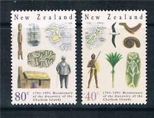 New Zealand 1991 Chatham Islands sg1585/6 Neuf sans charnière