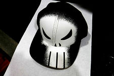 NEW W/TAGS-MARVEL COMICS THE PUNISHER GRAPHIC DESIGN BASEBALL CAP; SNAP BACK HAT