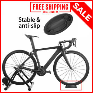 Indoor Trainer Bike Front Wheel Mount Exercise Station Stabilizing Bicycle Stand